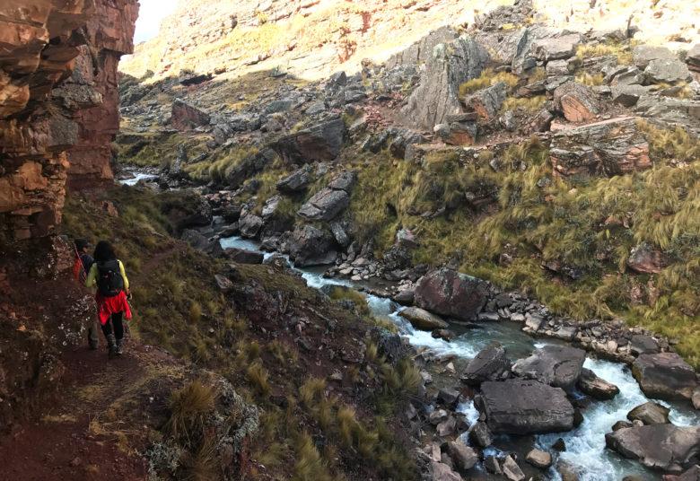 solo trilha Ausangate aclimatação no Peru