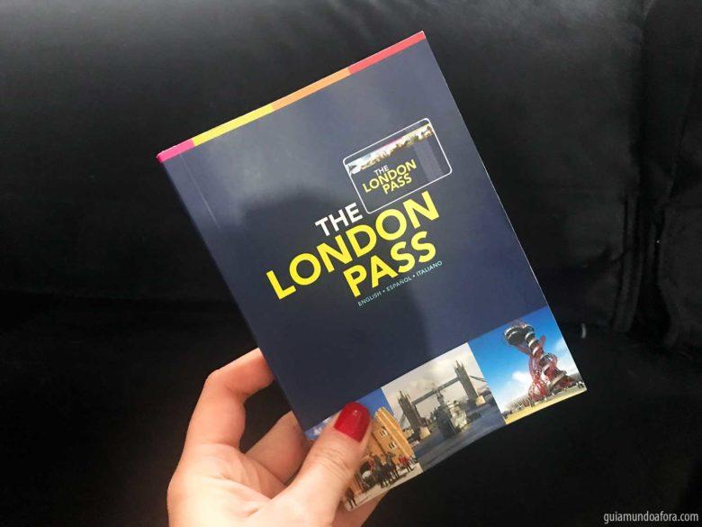 Livreto do London Pass