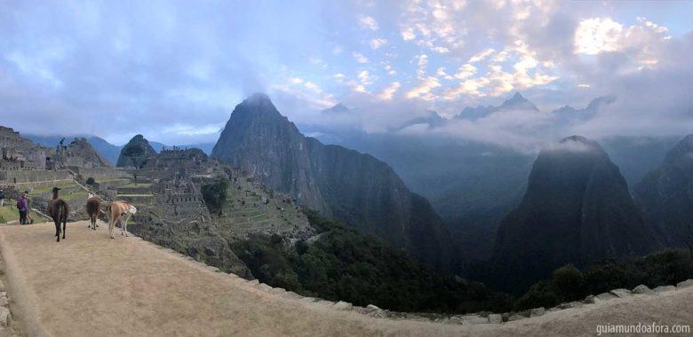 ônibus para Machu Picchu