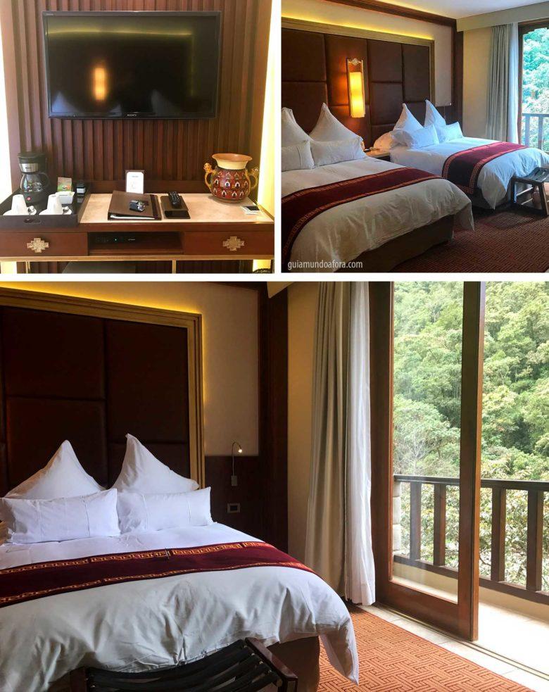 quarto hotel águas Calientes