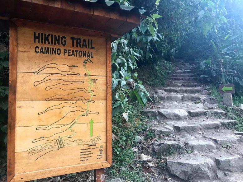 trilha até Machu Picchu