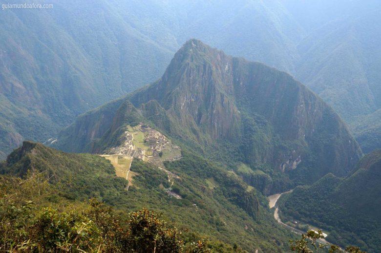 alto da Montaña de Machu Picchu
