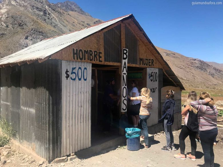 banheiros em Cajon del Maipo