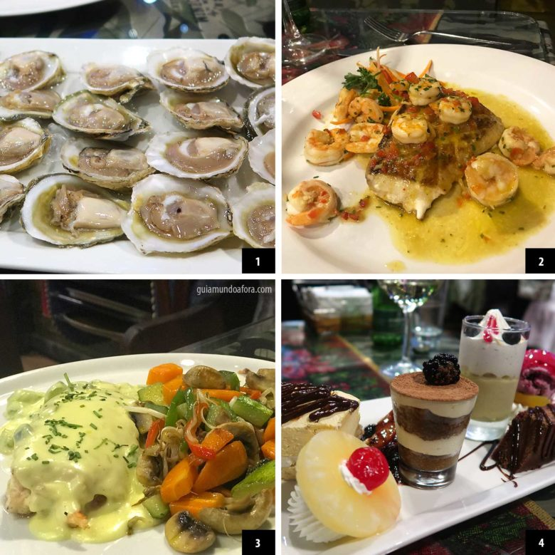 comidas restaurante ocean pacific