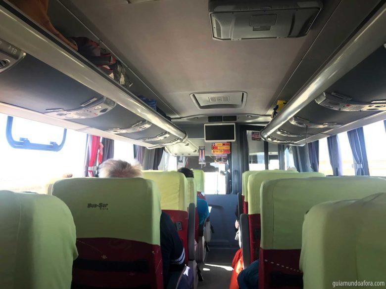 ônibis para Ushuaia Bus Sur