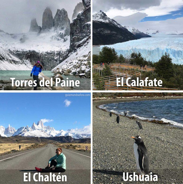 destinos na Patagônia