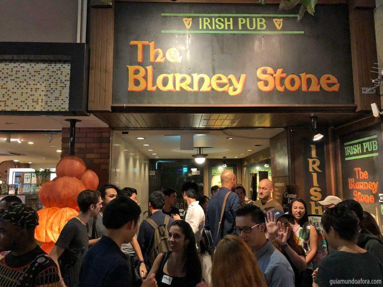 pub crawl em Osaka no Japão