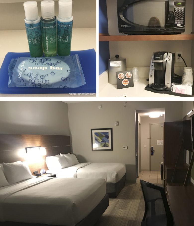 Holiday Inn SeaWorld fica na frente do parque em Orlando