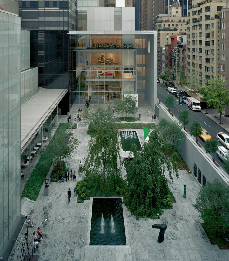 El Sculpture Garden del MoMA en Nueva York