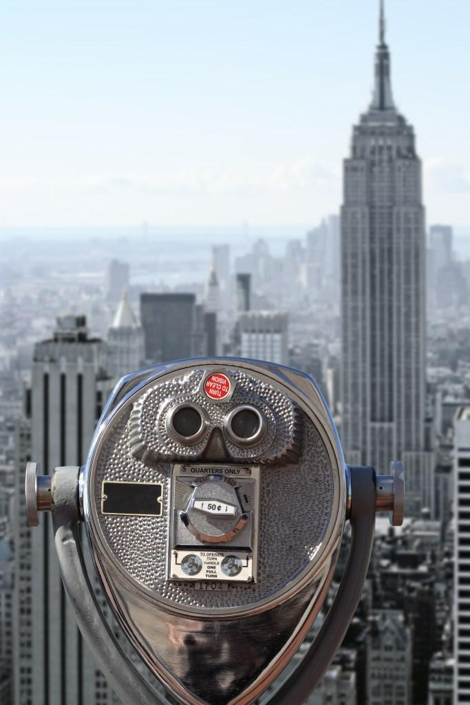 Vista al Empire State Building