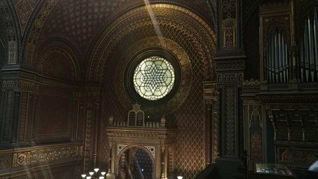 La Sinagoga Española es uno de los tesoros del barrio judío de Praga.