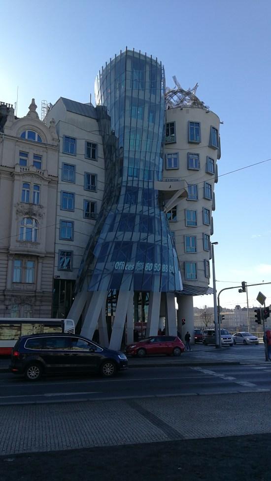 La casa danzante, uno de los tesoros de vuestro viaje a Praga.