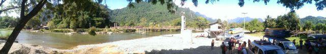 Vang Vieng, el pueblo mas animado de Laos.