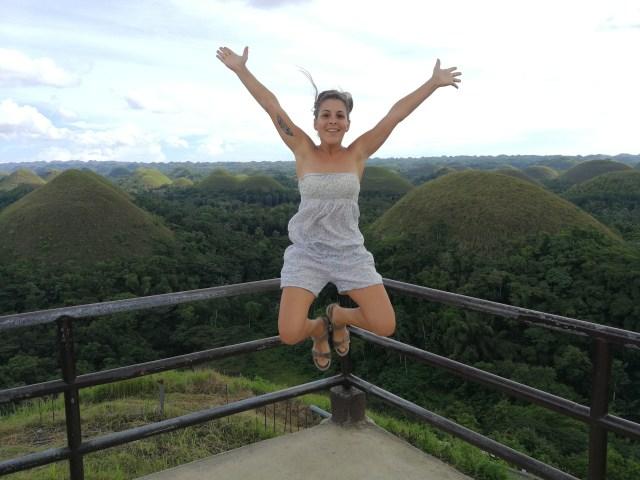 Chocolate Hills, la visita mas típica de Bohol