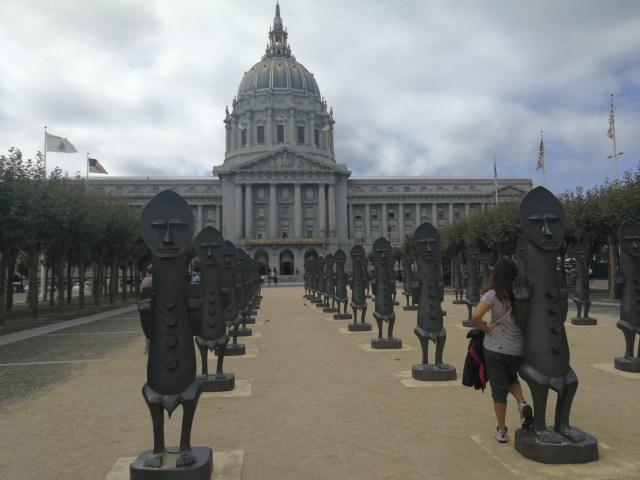 El ayuntamiento de San Francisco es una visita obligada.