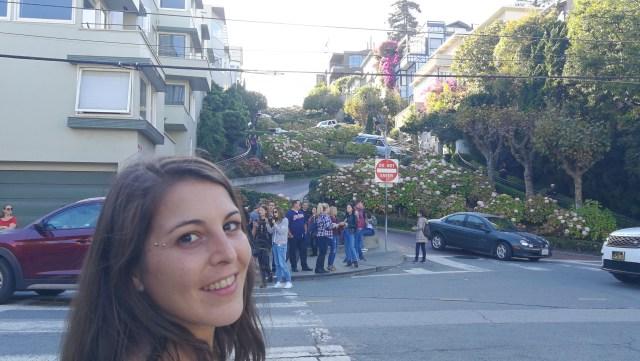 Vista turística a lombard street, lo que nadie te cuenta