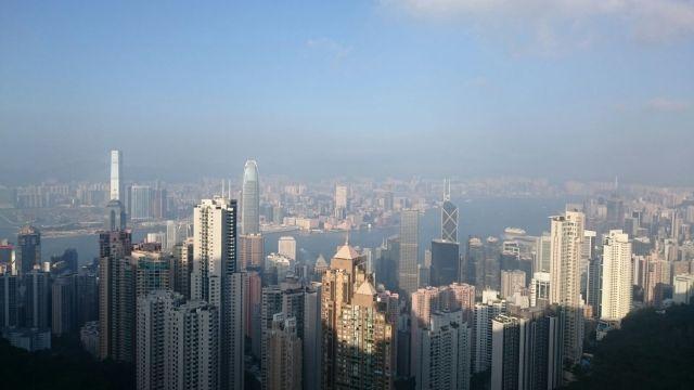 Victoria Peak da unas vistas espectaculares de Hong Kong.