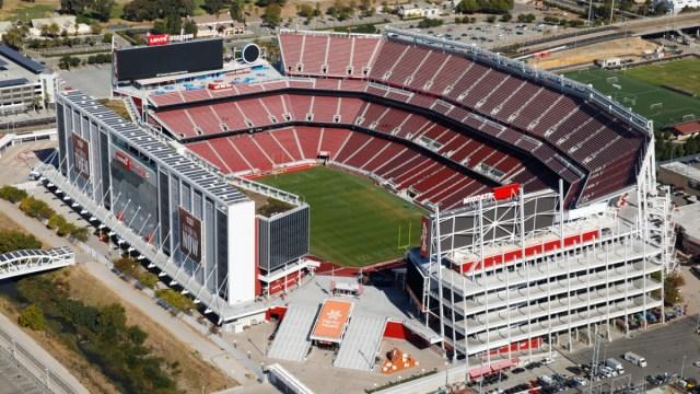 Levi's Stadium, uno de los más modernos templos de la NFL.