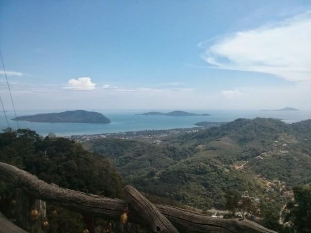 Las vistas desde Big Buddah en Phuket.