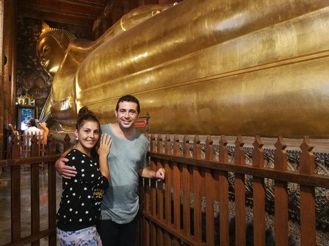 ...y pocas fotos tan típicas como esta. Wat Poh imprescindible en dos días en Bangkok.