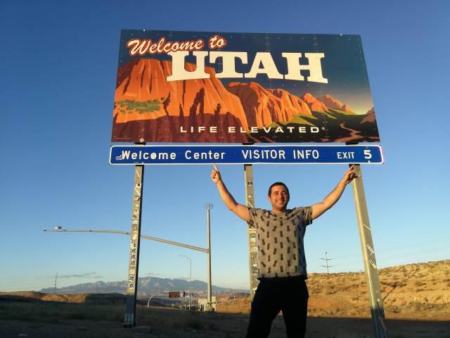 """La leyenda de """"life elevated"""" era un aviso🤣, bienvenidos a los paisajes de Utah."""