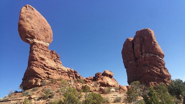 Balanced Rock que ver en Arches National Park