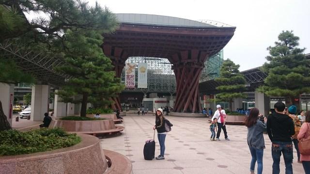 La estación de tren de Nagoya. Cuanto cuesta viajar a Japón