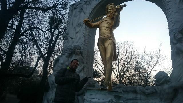 Johann Strauss. Que ver en Viena.