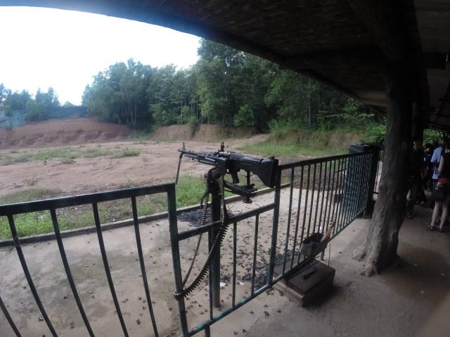 Campo de tiro en Cuchi.