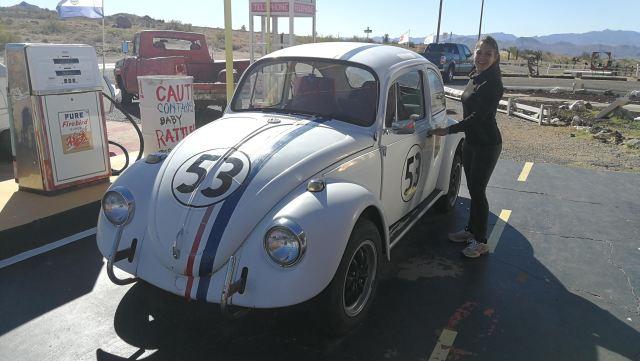 Os suena? Herbie a tope!!! casi estamos en kingman az