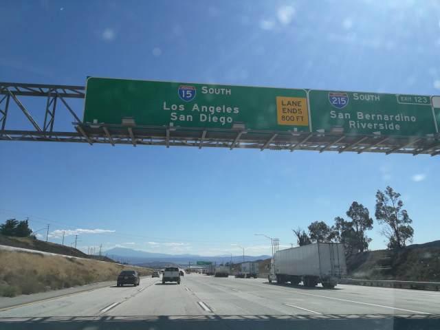 Por fín llegamos a Los Angeles!!!
