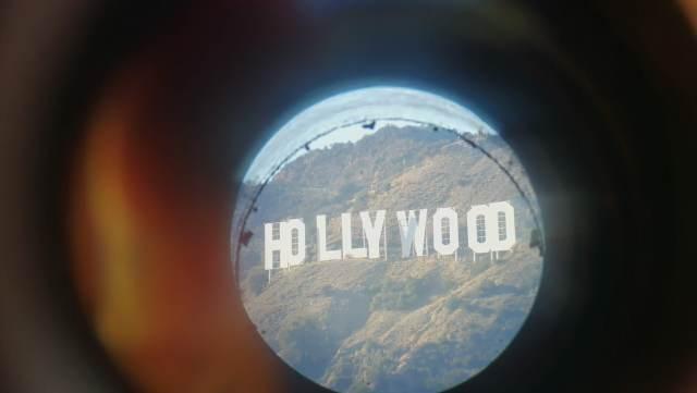 Letror de Hollywood desde el Observatorio Griffith.