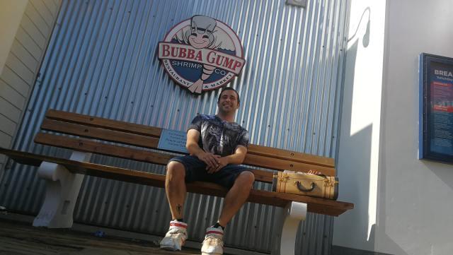 Sentirse en los pies de Forrest Gump es posible en Santa Monica Pier. Por fin llegamos a Los Angeles, el final de la ruta 66.