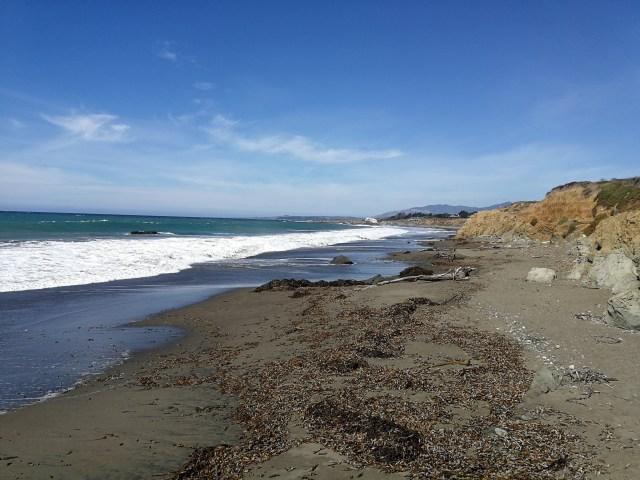 Algunas playas del Big Sur son auténticos paraísos de tranquilidad.