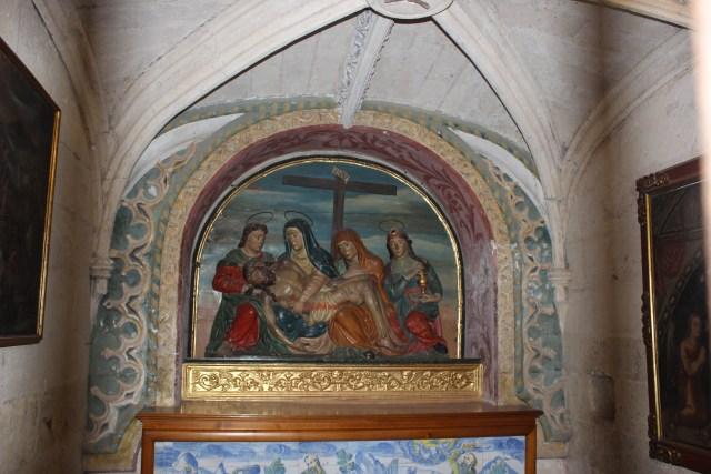 El interior de la Mezquita de Córdoba guarda muchos detalles cristianos.