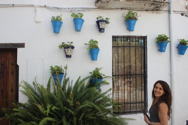 La calle de las flores, dentro del Barrio Judío.