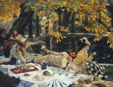 Holyday c.1876 by James Tissot 1836-1902