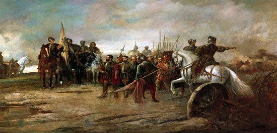 Representación de la Batalla de Villalar.