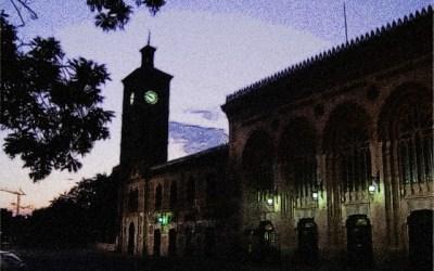 La estación del Ferrocarril. Noche del Patrimonio 21 de septiembre 2019