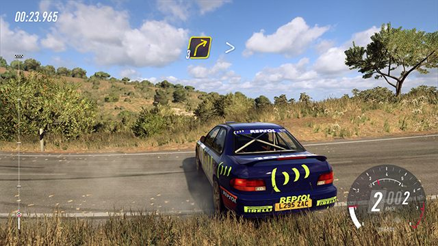 You will be watching the route from this position frequently. - Driving basics, tips and controls in DiRT Rally 2.0 - Basics - DiRT Rally 2.0 Guide