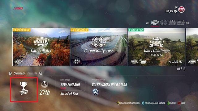 1 - How to change the difficulty level in the career mode? - FAQ - DiRT Rally 2.0 Guide