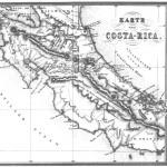 Mapa de Costa Rica 1856
