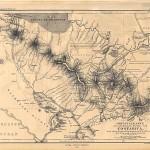 Mapa de Costa Rica 1861