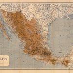 Mapa General de México 1919