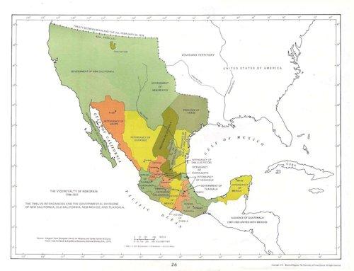 Mapas históricos México