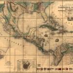 Mapa de América Central y las Antillas