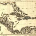 Mapa de las Indias Occidentales y el Golfo de México