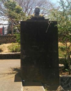 Busto de José María Zeledón Brenes