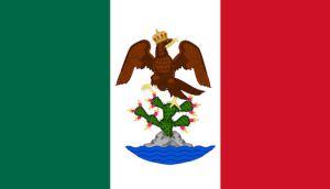 Bandera Imperio Mexicano