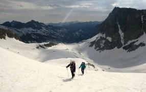 En el Glacier d'Aragon